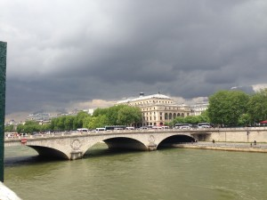 Pont towards chatelet