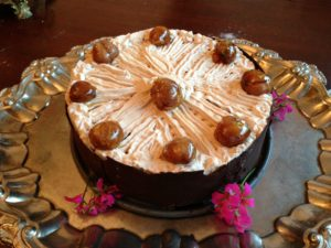 My fabulous chestnut cake