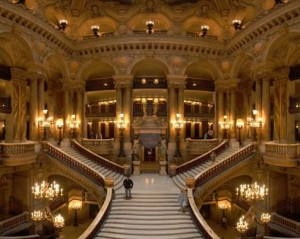Opera grand staircase panorama