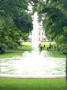 Elysee fountain