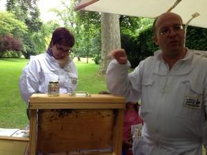 Matignon beekeeper