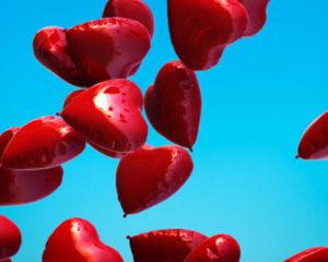 releasing hearts