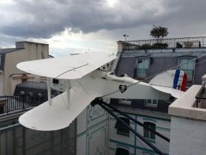 L'Oiseau Blanc avion