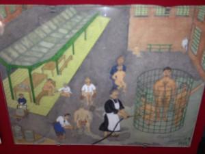 Musee Saint Anne tile paintings 1