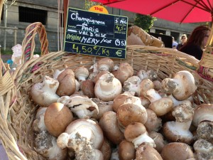 Paris mushrooms