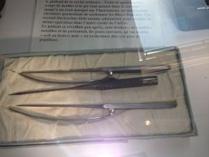 Saiint Anne lobotomy instruments