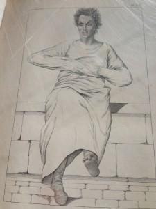 Saint Anne musee camisole portrait