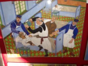 Saint Anne museum tile paintings gavage