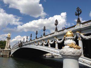 Seine pont Alexandre