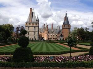 chateau Mintenon  gardens