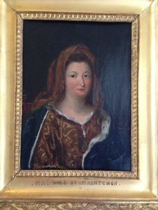 madame de maintenon portrait at chaeau