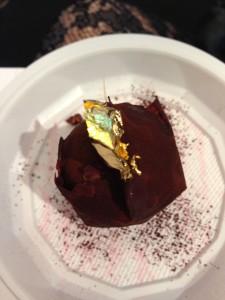 Chocolate salon Grollet's sphere