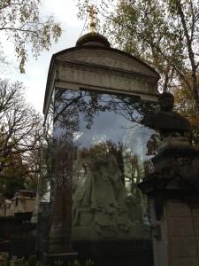Pere Lachaise russian princess crypt