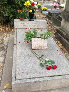 Pere Lachaise signoret and Montant