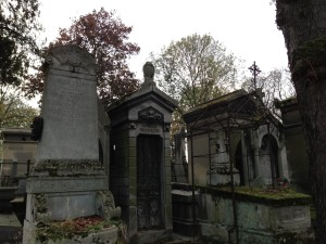 Pere Lachaise steepled crypts