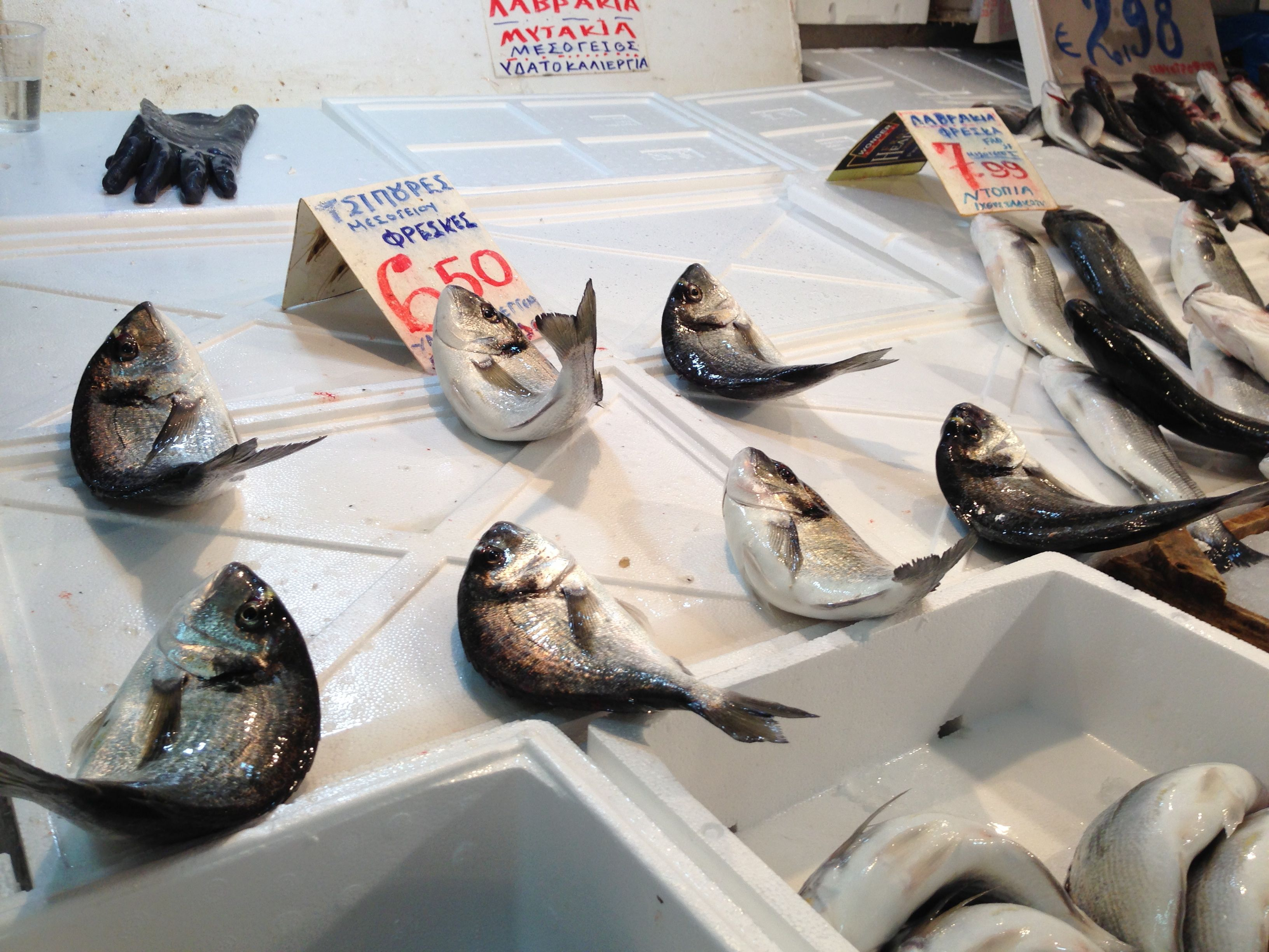 My culinary adventures in athens for Cherry street fish market