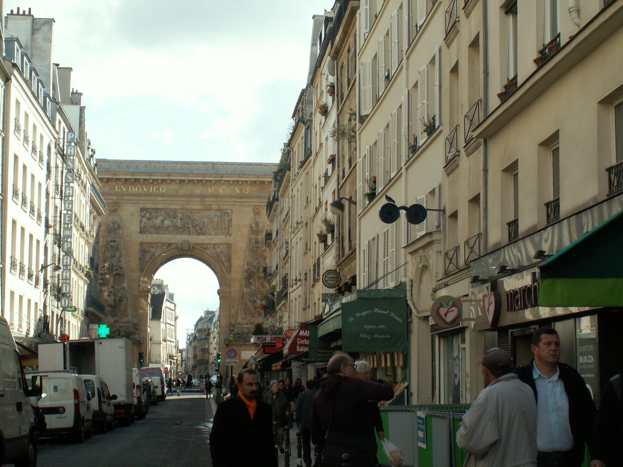 prostituées rue saint denis paris